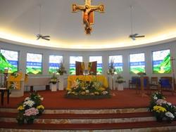 Click to view album: Easter Altar